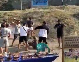 В Судаке фотоживодеры избили туристов