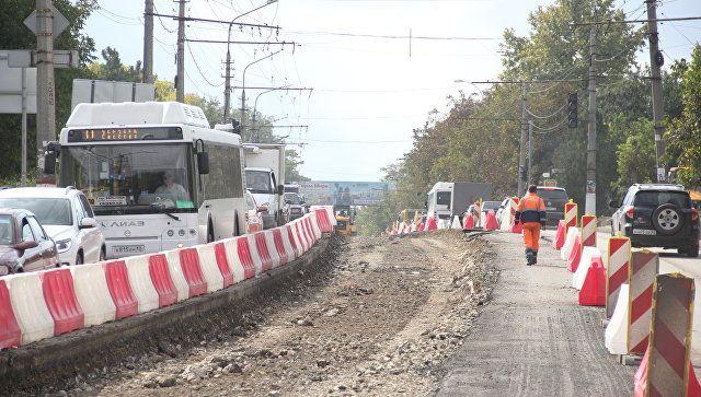 В Симферополе до конца лета отремонтируют 18 улиц