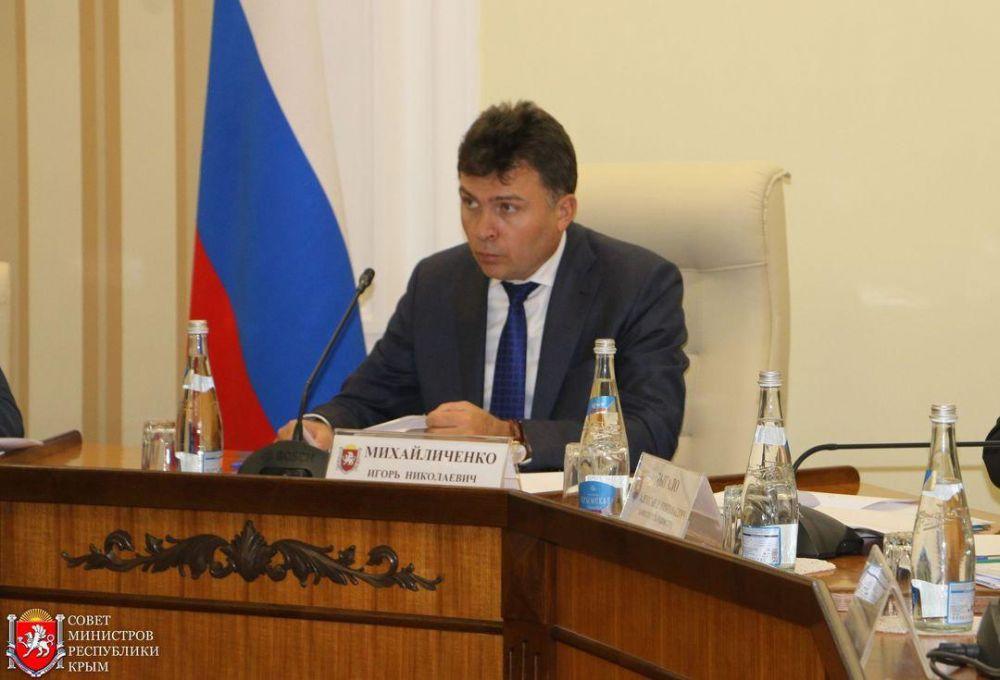 По многим госзакупкам в Крыму ещё не готовы контракты, — Михайличенко