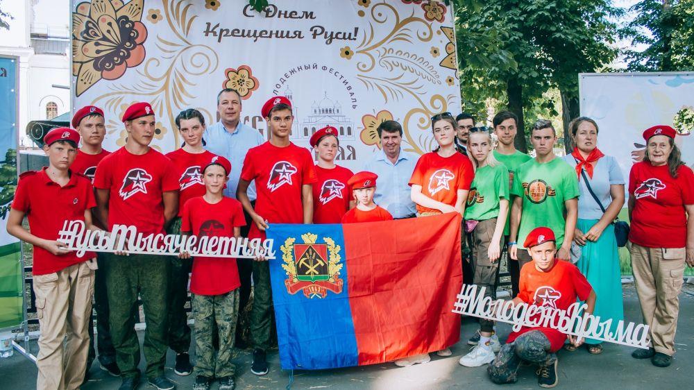 Команда из Красноперекопска победила в квесте на фестивале «Русь тысячелетняя»