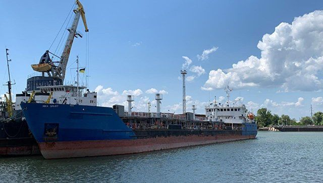 Украина арестовала ранее задержанный российский танкер