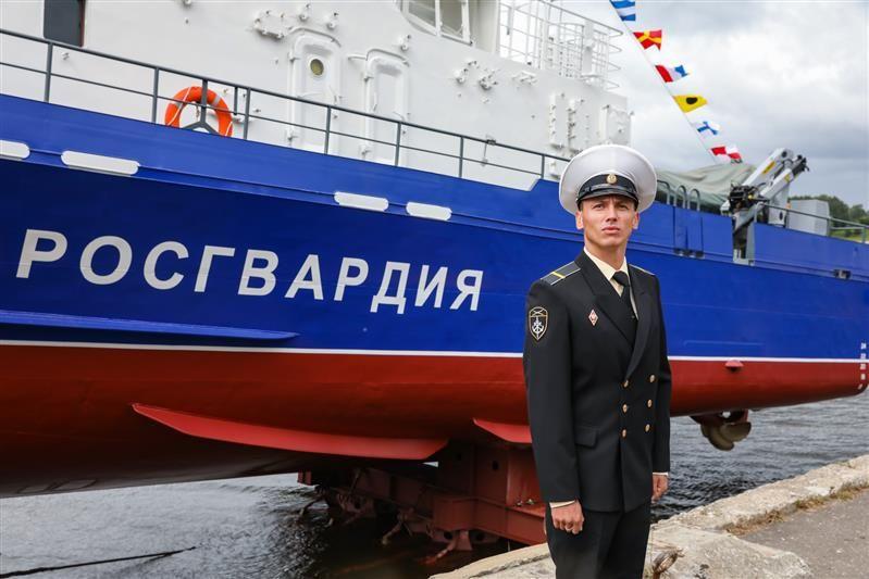 Для охраны акватории Керченского пролива крымская Росгвардия получила противодиверсионный катер