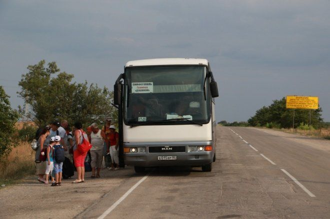 Минтранс Крыма пустит ночные автобусы из Симферополя до границы с Украиной