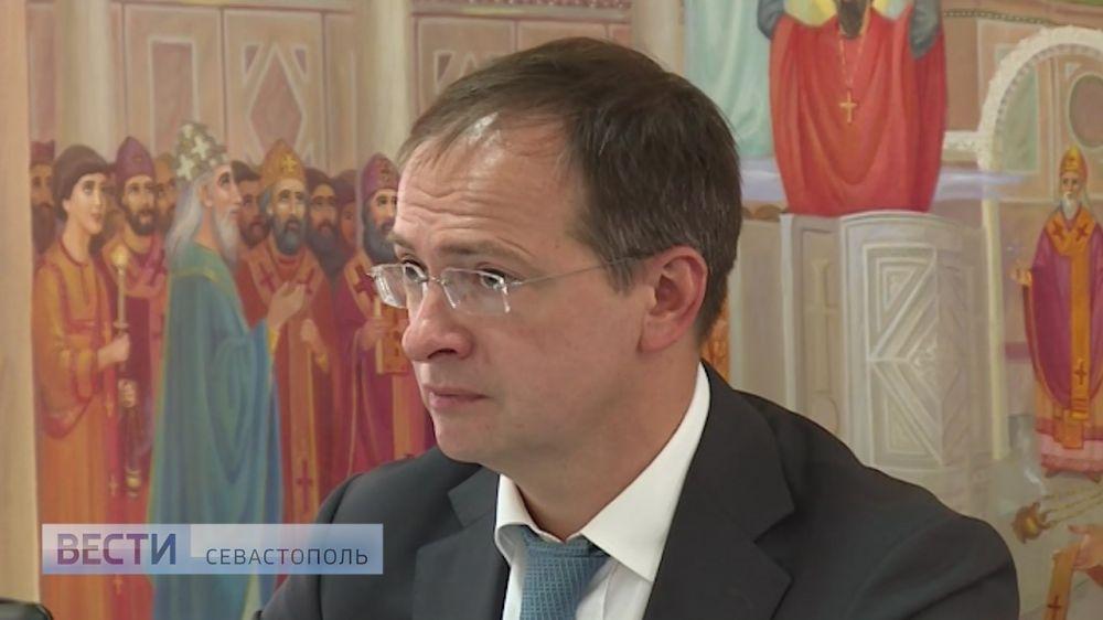 Мединский: «Комплекс на мысе Хрустальный выведет Севастополь на уровень мировых культурных столиц»