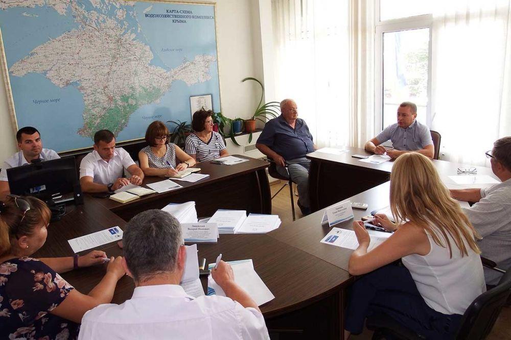 В Госкомводхозе Крыма состоялось очередное заседание Общественного совета