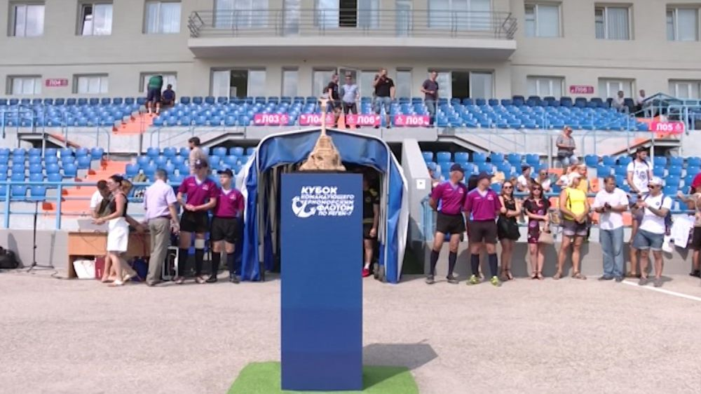 В Севастополе стартовал Кубок командующего ЧФ по регби