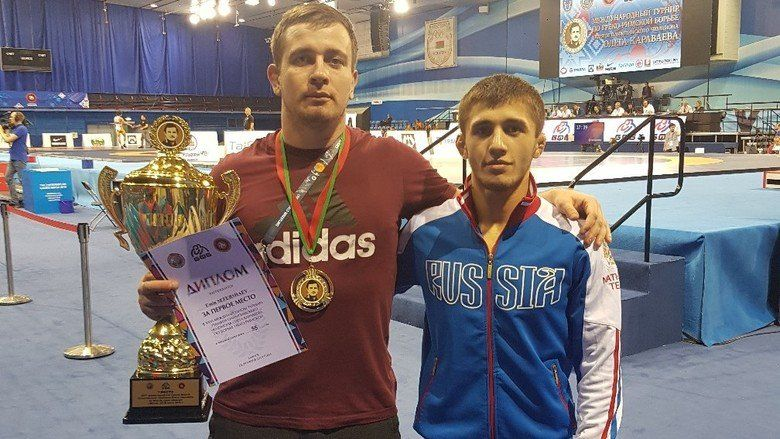 Симферополец выиграл международный турнир по греко-римской борьбе в Минске