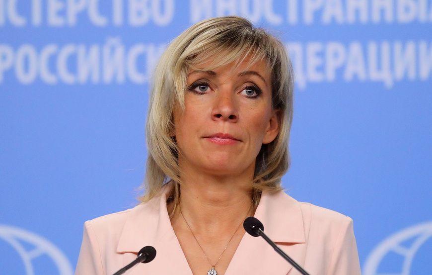 Захарова прокомментировала слова Помпео о возвращении Крыма в состав Украины