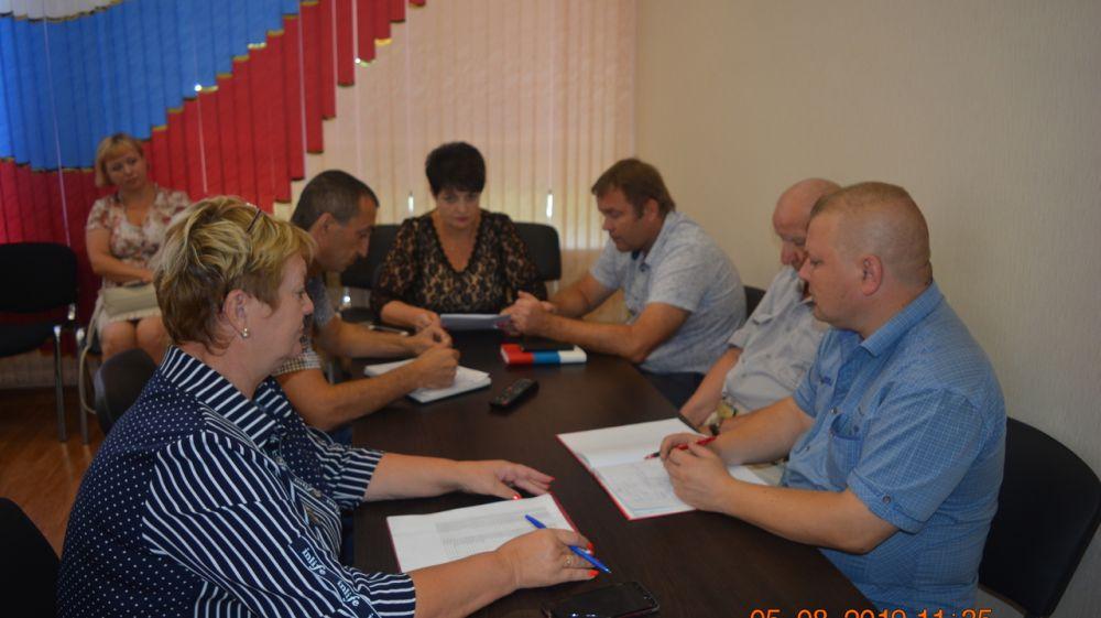 Состоялось рабочее заседание координационного районного штаба