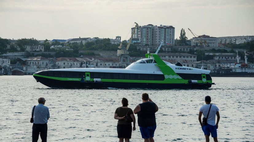 Катер «Комета» перевёз более 20 тысяч пассажиров между Севастополем и Ялтой с начала лета