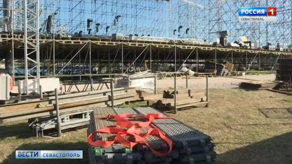 Для балета «Спартак» в Херсонесе строят копию сцены новосибирского театра