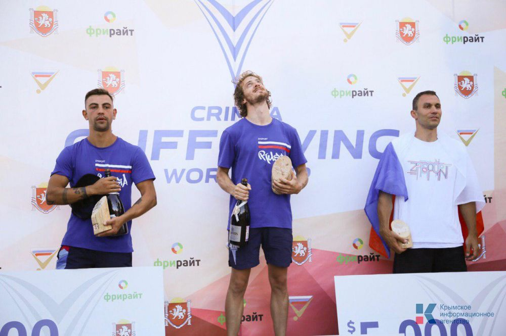 Британский спортсмен в третий раз выиграл Кубок мира по клифф-дайвингу