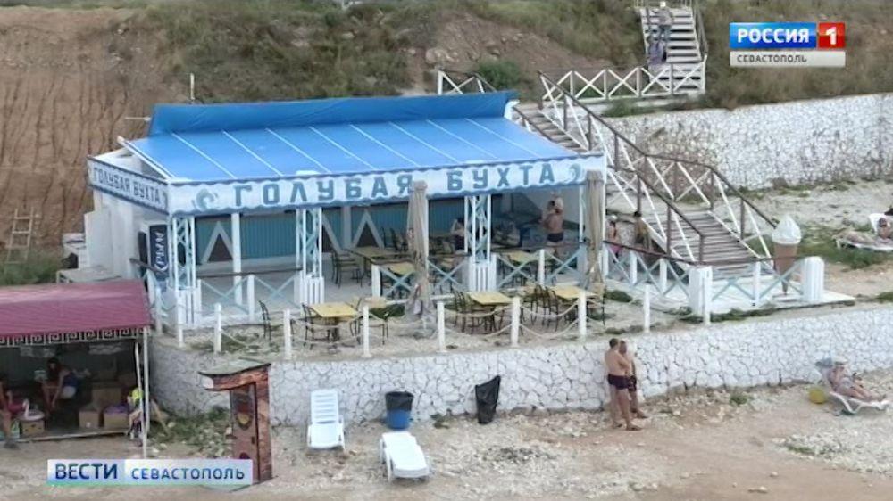 Предприниматели пляжа «Голубая бухта» работают незаконно
