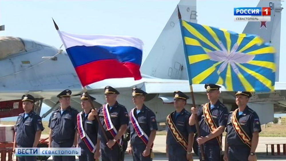 В Севастополе отмечают 107 лет со дня основания ВВС России
