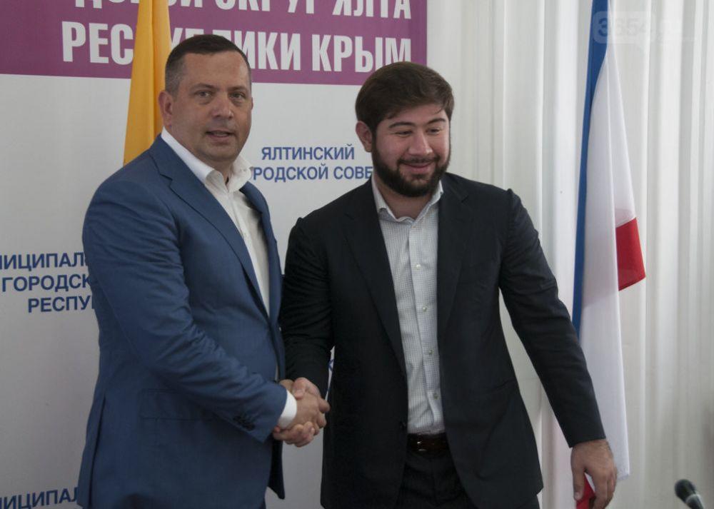 Ялта подписала договор о сотрудничестве с Грозным