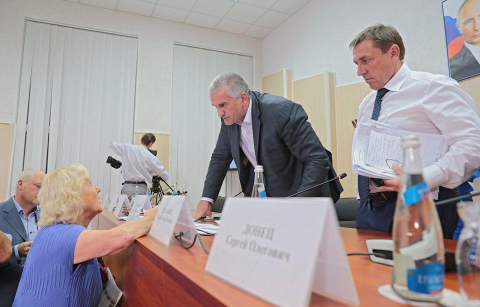 Серей Аксенов провел рекордное выездное совещание