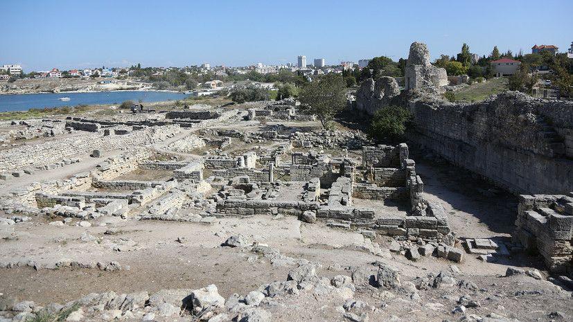 В Крыму планируют создать два археологических кластера