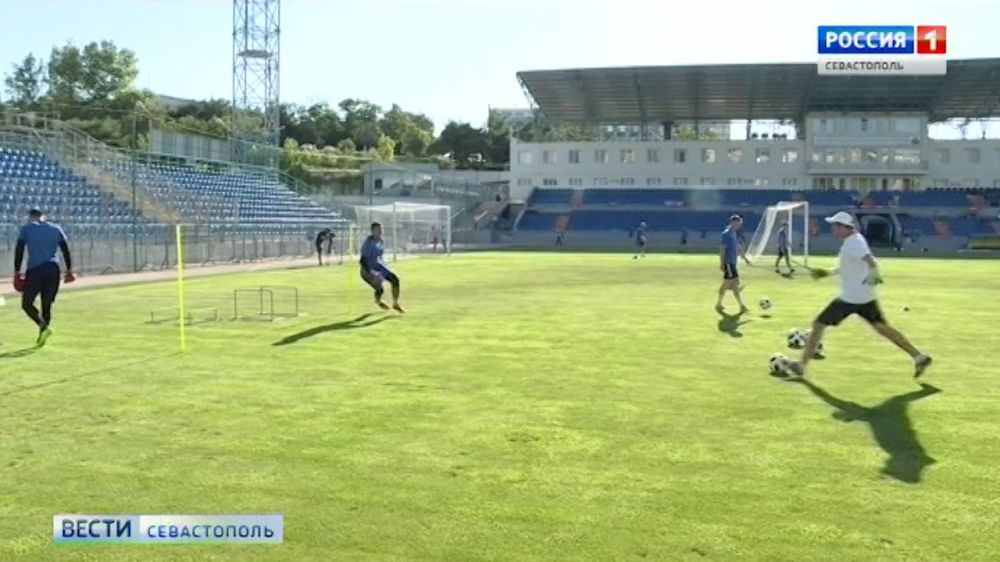 ФК «Севастополь» готовится ко встрече с керченским «Океаном»