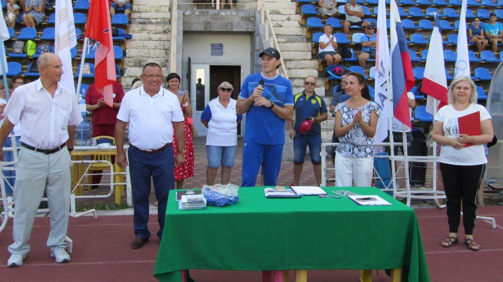На стадионе «Авангард» состоялось мероприятие, посвященное Дню физкультурника