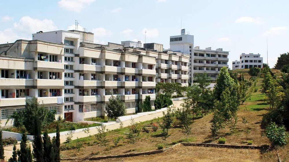 Погорельцы начали заселяться в пансионат «Лазурь»