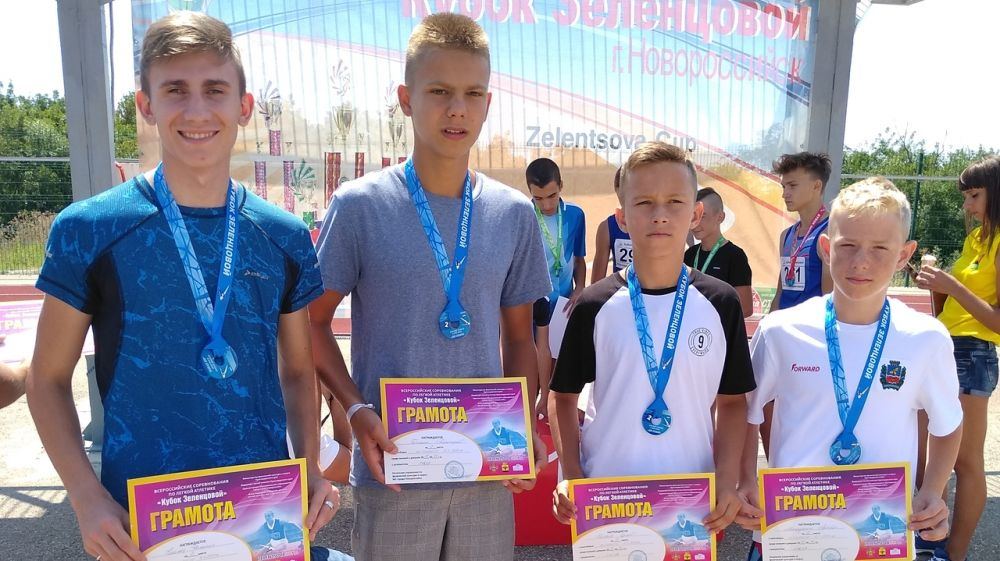 Крымские легкоатлеты завоевали 5 медалей на Всероссийских соревнованиях