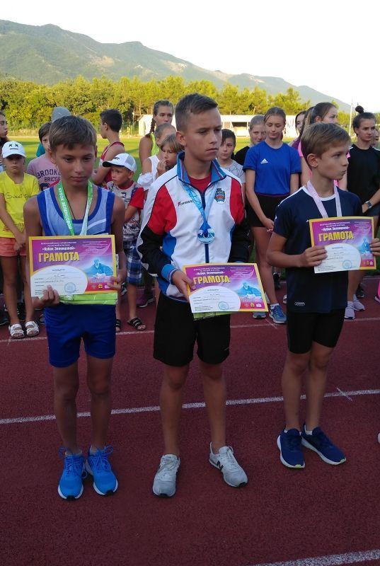Спортсмены из Крыма завоевали пять медалей на всероссийских соревнованиях по лёгкой атлетике