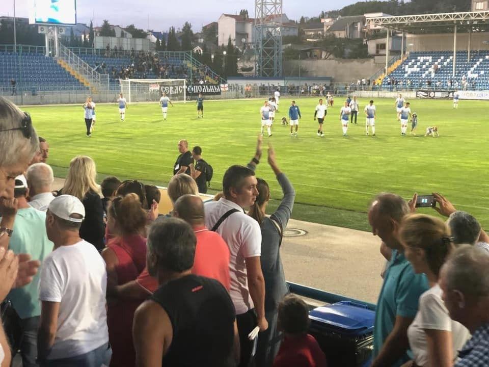 Чемпионат Премьер-лиги КФС для ФК «Севастополь» начался с победы