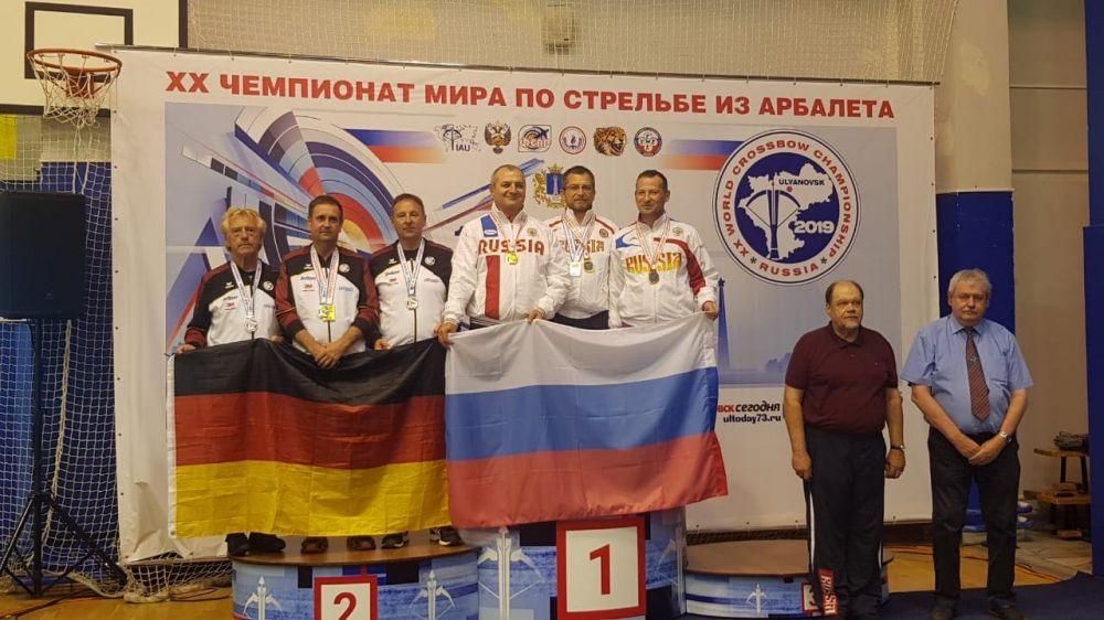 Спортсмены Крыма и Калужской области выиграли чемпионат мира
