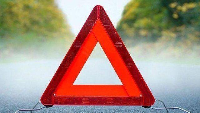 Lexus и Mazda не поделили дорогу в Евпаторию
