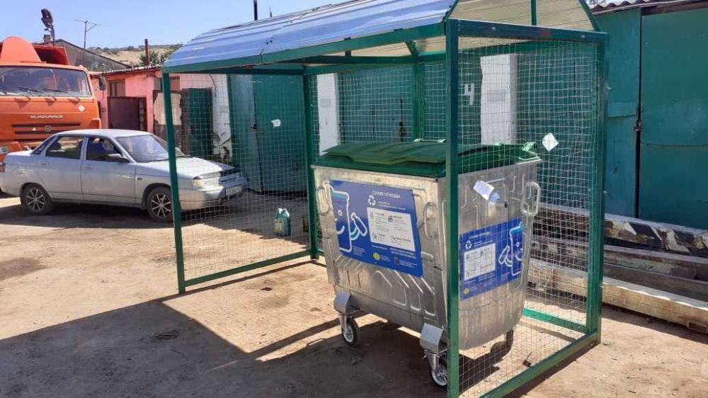 В Феодосии будет оборудовано 80 специальных контейнерных площадок для сбора ТКО