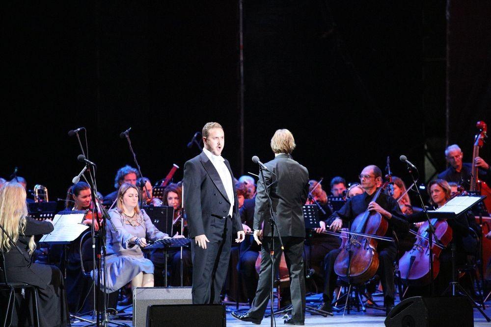 Солист из Новой Зеландии спел партию Евгения Онегина на фестивале в Херсонесе