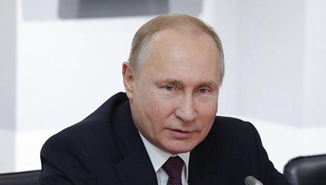 Путин прокомментировал незаконные акции протеста в Москве