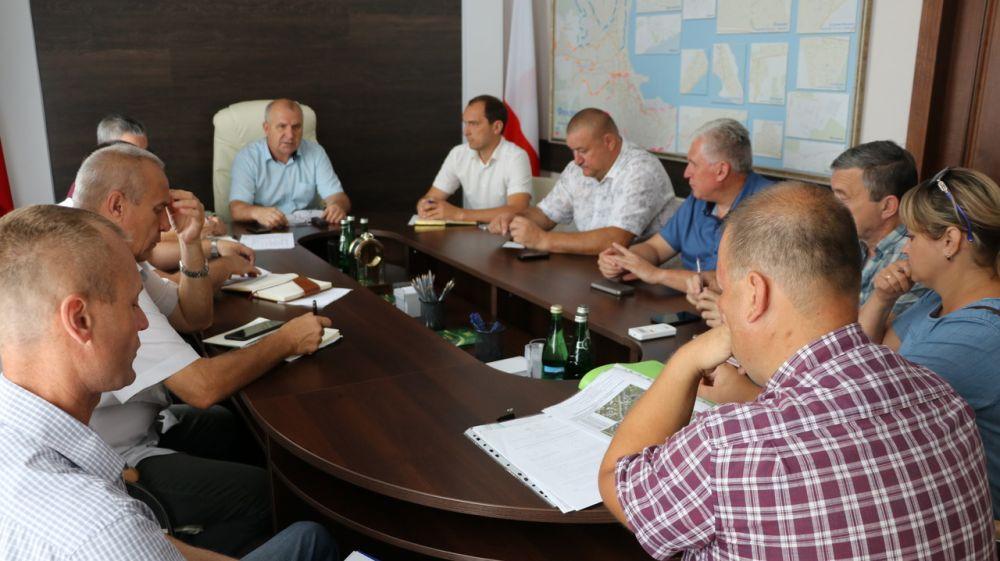 Сергей Бовтуненко провел рабочее совещание по выявлению, учету, обследованию и обслуживанию сетей ливневой канализации