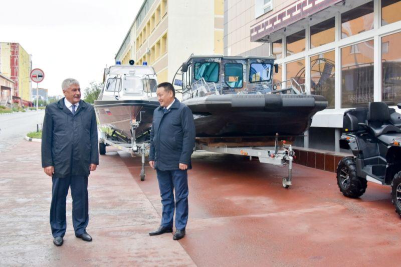 Рабочая поездка Владимира Колокольцева на Чукотку