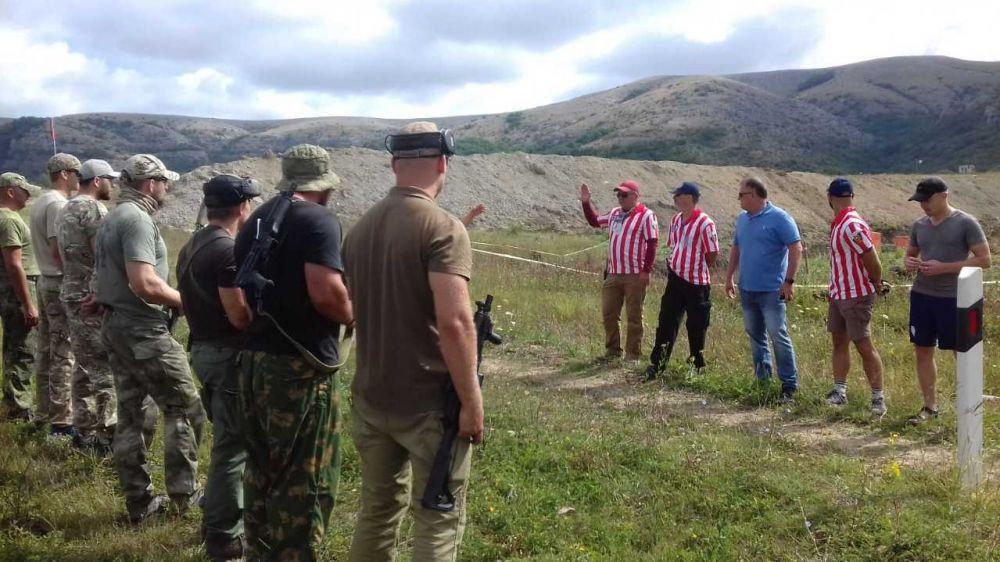 В Симферопольском районе прошли соревнования по практической стрельбе из ружья и карабина в пистолетном калибре (РСС)