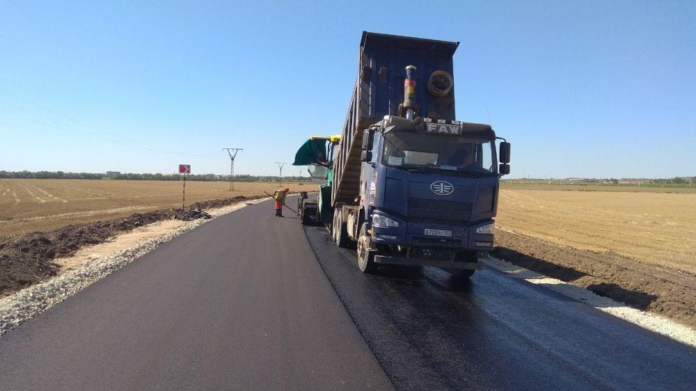 Дорожники ведут работы по строительству новой автомобильной дороги Керчь – Чистополье – Новоотрадное