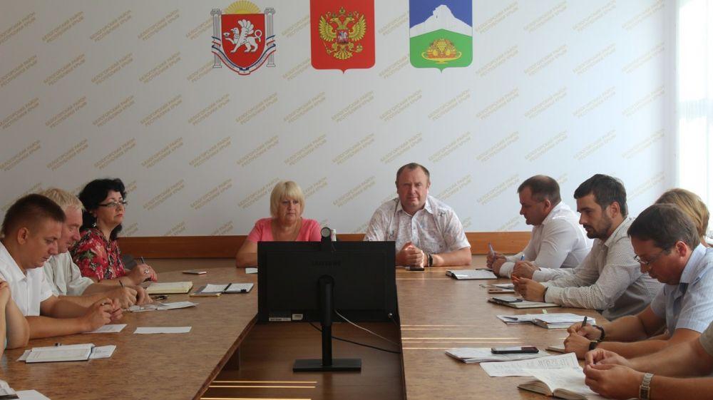 Галина Перелович провела аппаратное совещание