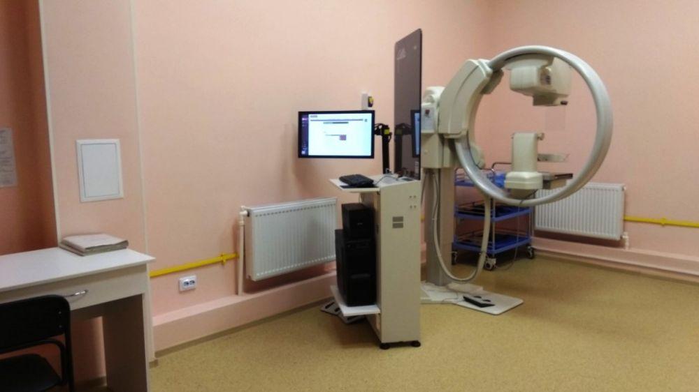 В Симферопольской поликлинике №3 открыт современный кабинет маммографии
