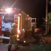 Крымские спасатели ликвидировали пожар в пгт. Приморский