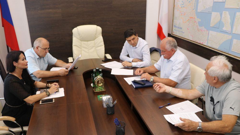 В Феодосии состоялось совещание по вопросу строительства объекта федеральной целевой программы