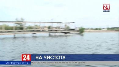 Работа очистных сооружений в селе Укромном под Симферополем мешает местным жителям