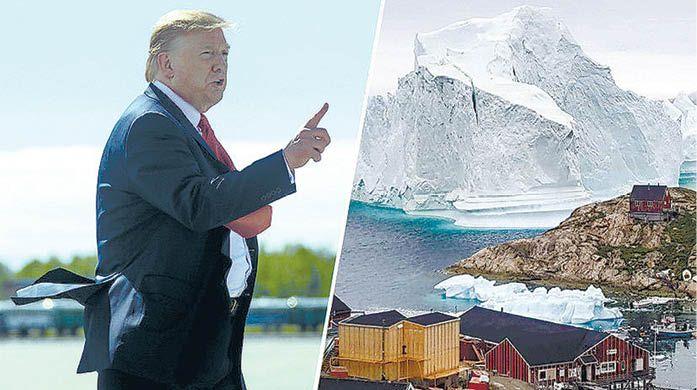 Трамп приценивается к Гренландии