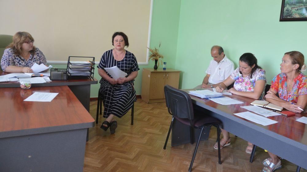 В администрации Красноперекопского района состоялось заседание санитарно-противоэпидемической комиссии