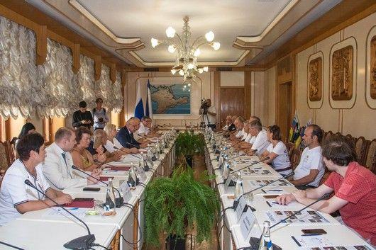 Юрий Гемпель встретился с делегацией общественных деятелей из Германии
