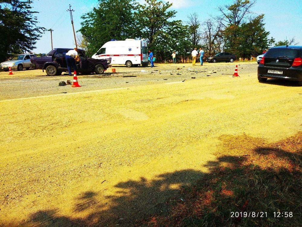В ДТП на трассе Симферополь-Джанкой один водитель погиб, другого спасла подушка безопасности