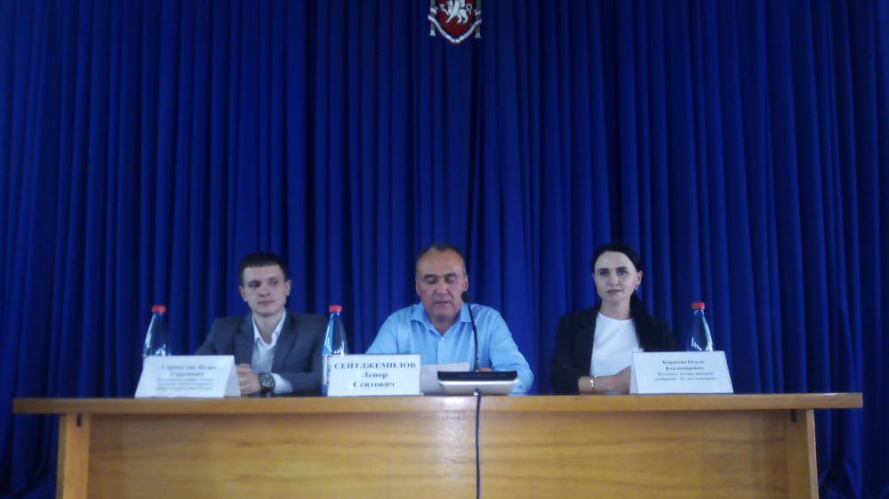 В администрации Белогорского района прошла встреча-совещание «Час предпринимательства»