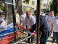 В симферопольской поликлинике №4 установили новый пандус для маломобильных граждан