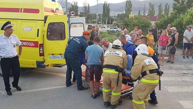 Пятеро взрослых и ребенок пострадали в ДТП на севере Крыма