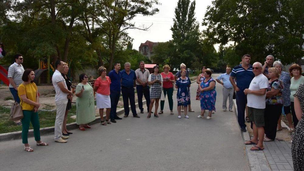 Состоялась встреча с жителями многоквартирного дома
