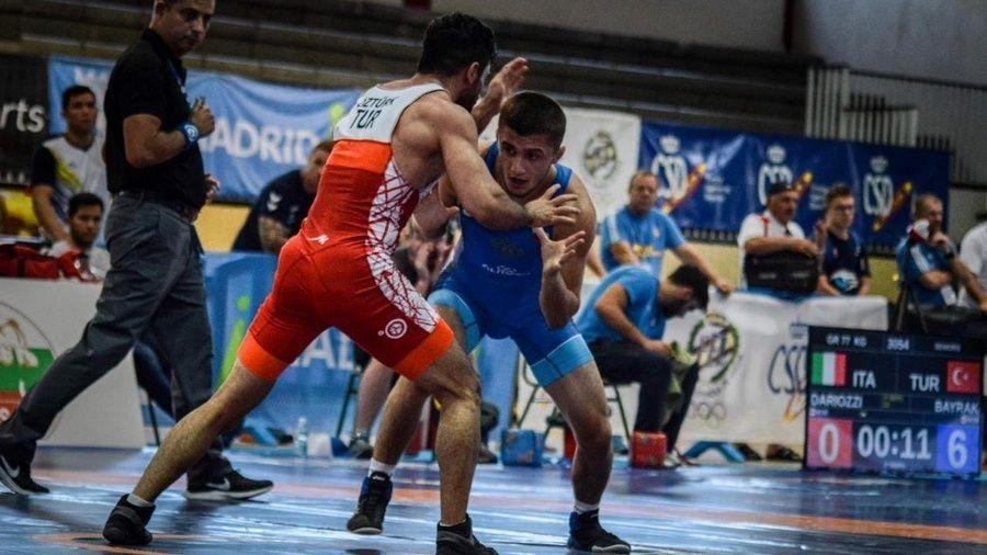 Симферопольский борец-классик Эмин Сефершаев получил очередной вызов сборную России